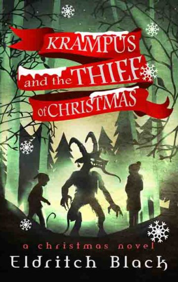The cover for Krampus and the Thief of Christmas