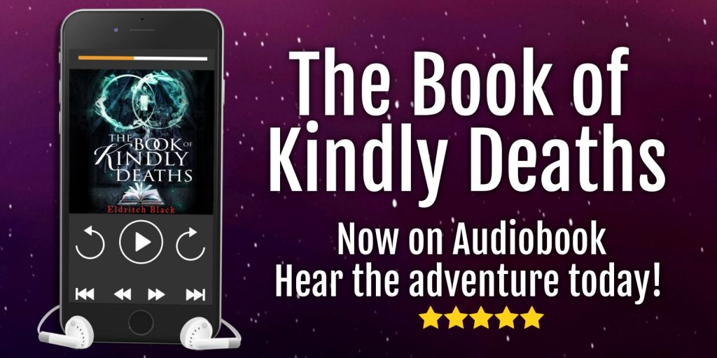 The audiobook of The Book of Kindly Deaths