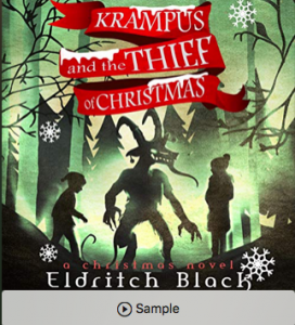 The Audible version of Krampus and The Thief of Christmas